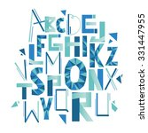 modern abstract abc for your... | Shutterstock .eps vector #331447955