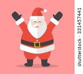 illustration of happy santa... | Shutterstock .eps vector #331457441
