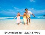 family beach vacation | Shutterstock . vector #331457999
