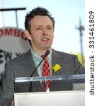 Small photo of LOS ANGELES - MAR 1 - Michael Sheen arrives at the Richard Burton Honored Posthumously With Star Ceremony on March 1, 2013 in Los Angeles, CA