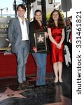 Small photo of LOS ANGELES - MAR 1 - Morgan Ritchie, Maria Burton and Charlotte Ritchie arrives at the Richard Burton Honored Posthumously With Star Ceremony on March 1, 2013 in Los Angeles, CA