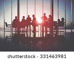 business people meeting... | Shutterstock . vector #331463981