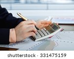 business accounting  | Shutterstock . vector #331475159