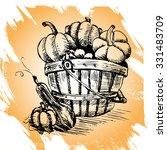 pumpkins | Shutterstock .eps vector #331483709