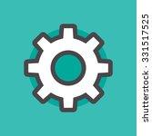 setting vector sign | Shutterstock .eps vector #331517525