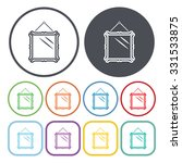 mirror icon vector.  | Shutterstock .eps vector #331533875