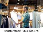 portrait of a modern man... | Shutterstock . vector #331535675