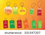 price tag  sale coupon  voucher.... | Shutterstock .eps vector #331547207