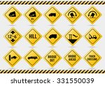 american traffic signs | Shutterstock .eps vector #331550039