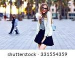 outdoor lifestyle portrait... | Shutterstock . vector #331554359