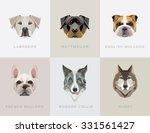 modern contemporary geometric... | Shutterstock .eps vector #331561427