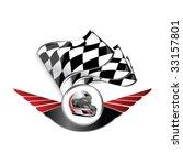 racing sign  4 | Shutterstock .eps vector #33157801