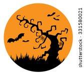 halloween design icon  vector... | Shutterstock .eps vector #331580021