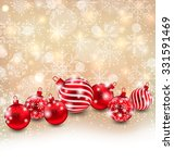 illustration christmas abstract ... | Shutterstock .eps vector #331591469