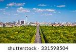 aerial view of berlin skyline... | Shutterstock . vector #331598504