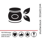 vector cream icon | Shutterstock .eps vector #331601144