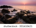 seascape  heavenly beauty of... | Shutterstock . vector #331610621