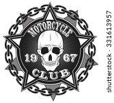 motorcycle racing typography... | Shutterstock .eps vector #331613957