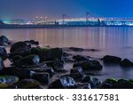 seascape and skyline of  busan. ... | Shutterstock . vector #331617581