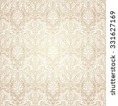damask beautiful background...   Shutterstock .eps vector #331627169