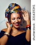 Beauty Bright African Woman...