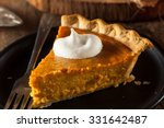 Festive Homemade Pumpkin Pie...