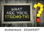 what are your strengths ... | Shutterstock . vector #331645397