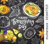 beautiful vector hand drawn... | Shutterstock .eps vector #331647515