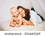 mother with baby | Shutterstock . vector #331665269