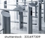 Small photo of Entrance gate card Access Security system