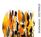 autumn thanksgiving watercolor...   Shutterstock . vector #331700615