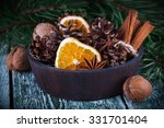 Christmas Decoration Card With...