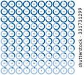 vector set ring diagrams ...   Shutterstock .eps vector #331731299