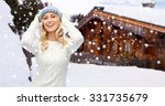 winter  vacation  christmas and ... | Shutterstock . vector #331735679