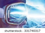 winter sports enthusiast | Shutterstock . vector #331740317