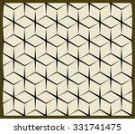 vector isometric pattern.... | Shutterstock .eps vector #331741475