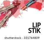 lipstick. beauty and cosmetics... | Shutterstock .eps vector #331764809