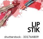 lipstick. beauty and cosmetics... | Shutterstock .eps vector #331764809