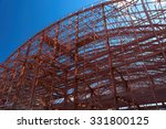 metal construction. stadium... | Shutterstock . vector #331800125