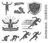Run Club Labels  Emblems And...