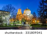 cathedral in capital of... | Shutterstock . vector #331809341