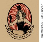 the circus air acrobat   Shutterstock .eps vector #331812797