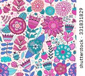 Vector Flower Pattern. Seamles...