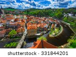 Aerial View Of Castle And...