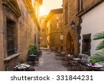 poble espanyol   traditional... | Shutterstock . vector #331844231