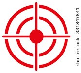 target vector icon. style is... | Shutterstock .eps vector #331849841