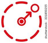 circular area border vector... | Shutterstock .eps vector #331850255