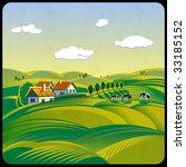 summer day landscape | Shutterstock . vector #33185152