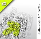 abstract arrow background...   Shutterstock .eps vector #331859945