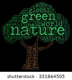 illustration of ecology concept ... | Shutterstock . vector #331864505